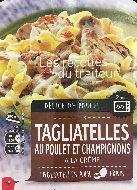 Tagliatelles au poulet et champignons - Product - fr