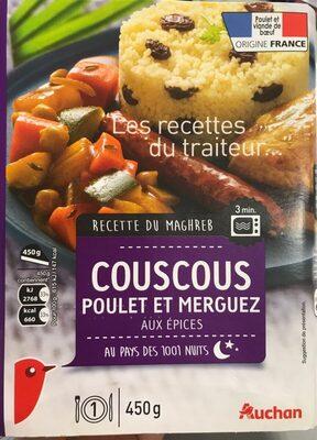 Couscous Poulet et Merguez aux épices - Produit