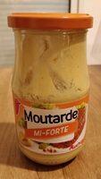 Moutarde mi-forte délicate - Product - fr