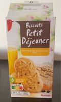 Biscuits petit déjeuner - Produit - fr