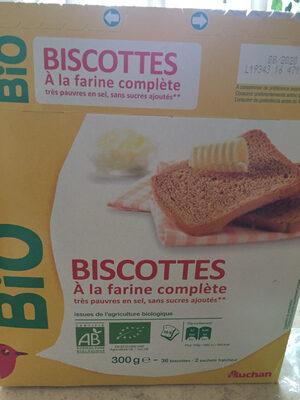 Biscottes a la farine complète - Produto