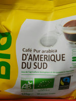 Dosettes cafe pur arabica Max Havelaar bio x18 - Product - fr