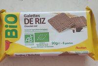 Galette de riz chocolat noir - Product - fr