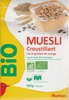 Muesli croustillant lin et graines de courge bio - Prodotto