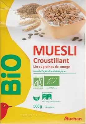 Muesli croustillant lin et graines de courges - Producto