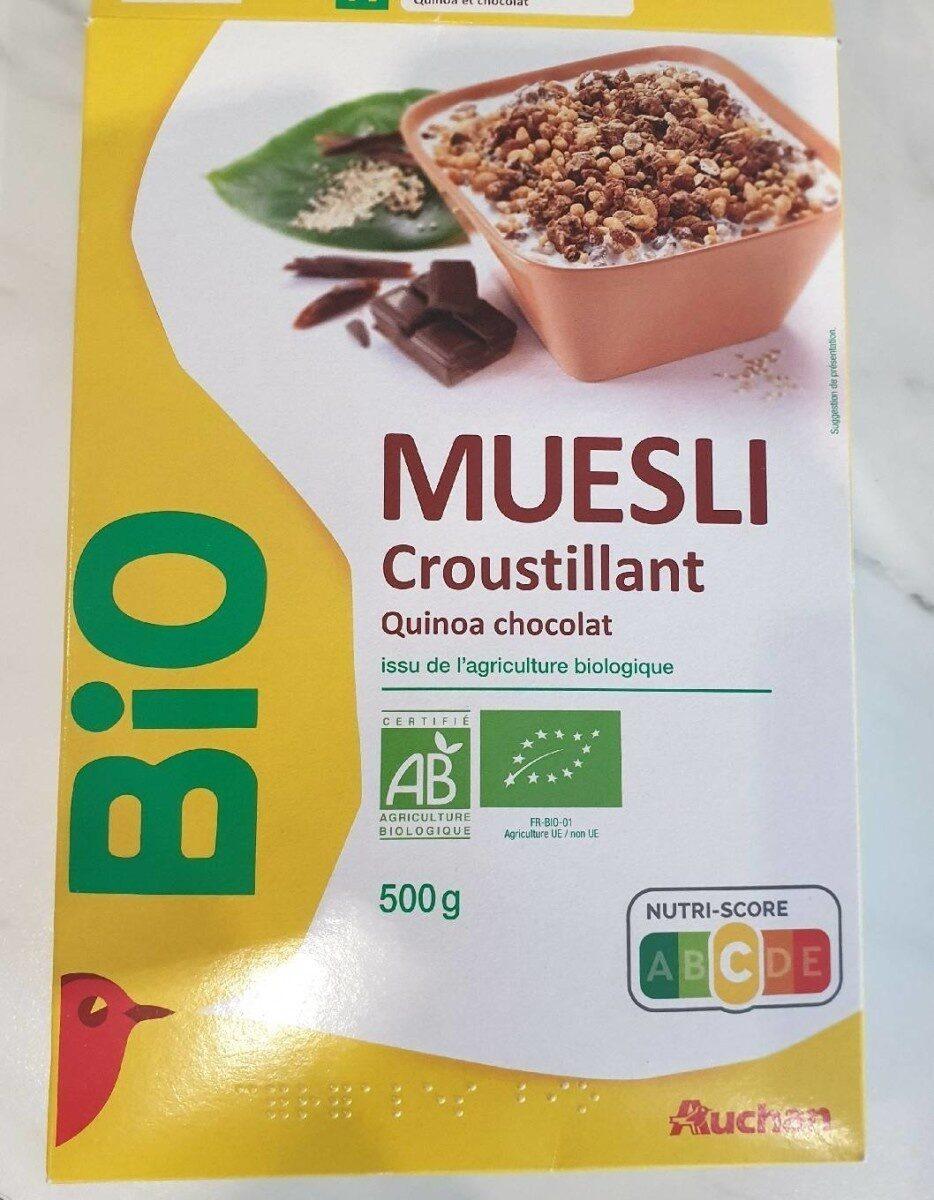 Muesli Croustillant Quinoa chocolat - Prodotto - fr