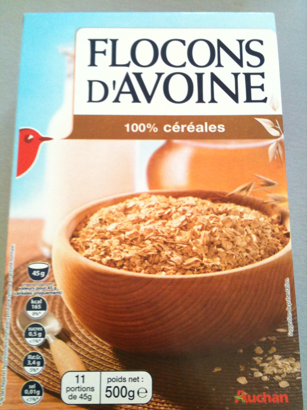 Flocons d'Avoine 100 % céréales - Product - fr