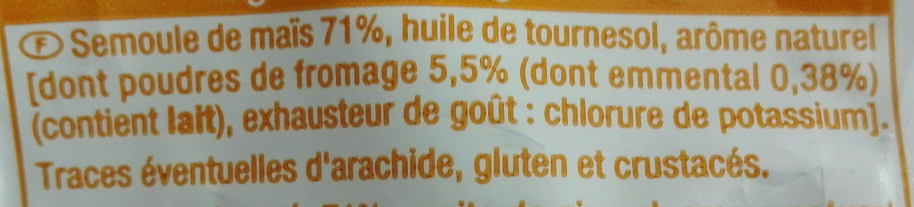 Croustillant goût fromage - Ingrédients - fr
