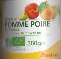 Compote de Pomme Poire avec morceaux - Produit