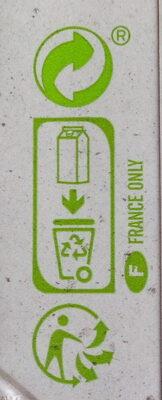 Boisson au soja nature Bio - Istruzioni per il riciclaggio e/o informazioni sull'imballaggio - fr
