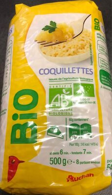 Coquillettes issues de l'agriculture biologique - Product