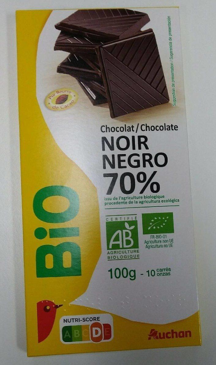 Bio Chocolat noir 70% - Продукт - fr