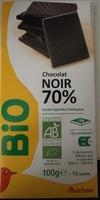 Chocolat noir 70% - Продукт