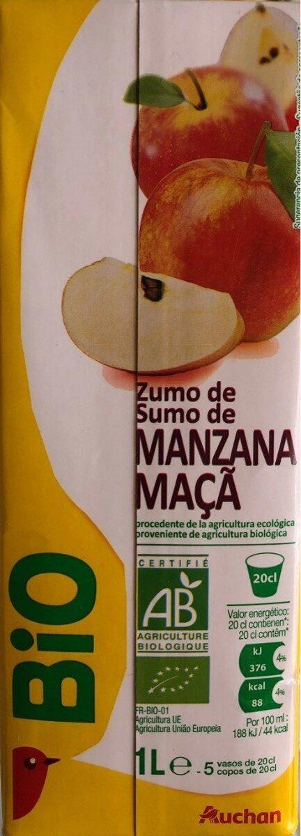 Pur jus de pomme trouble - Voedingswaarden - fr
