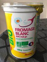 Fromage blanc issu de l'agriculture biologique - Product
