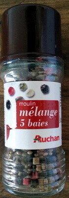 Moulin mélange 5 baies - Produit - fr
