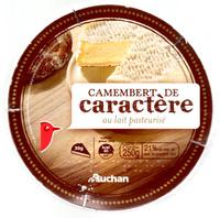 Camembert de Caractère au Lait Pasteurisé (21 % MG) - Product - fr