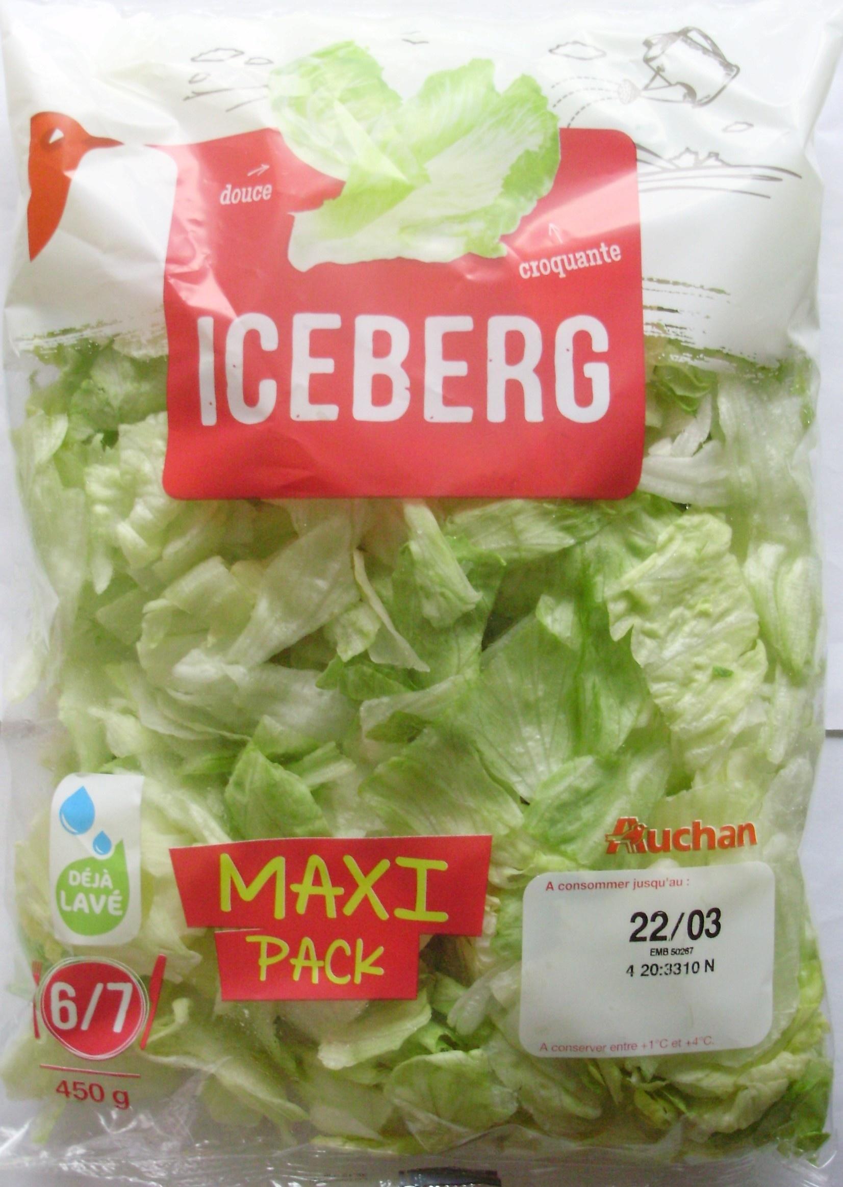 Iceberg, Maxi Pack (6/7 portions) - Produit