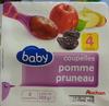 Coupelles pomme pruneau - Product