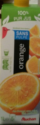 Orange sans pulpe - Product