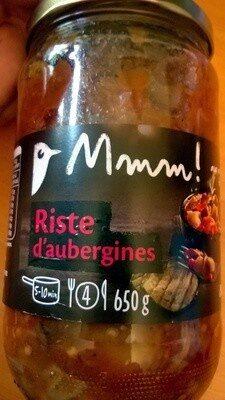 Riste d'aubergines (4 portions) - Produit - fr