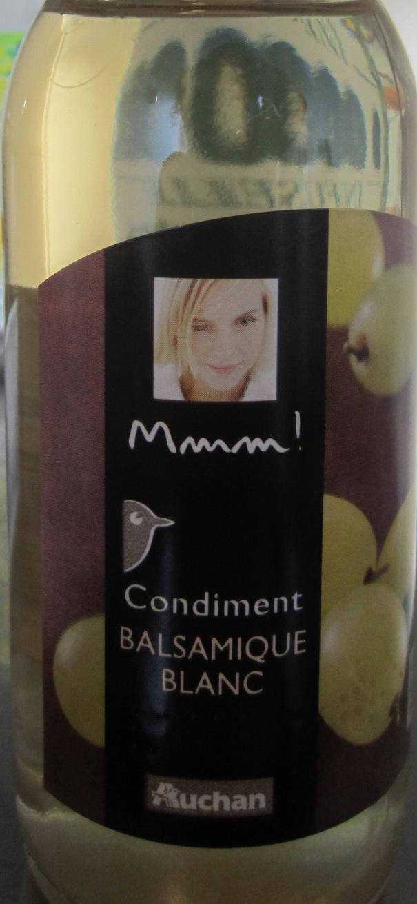 Condiment - Balsamique blanc - Produit - fr