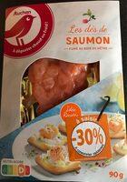 Dès de saumon fumé au bois de hêtre - Product - fr