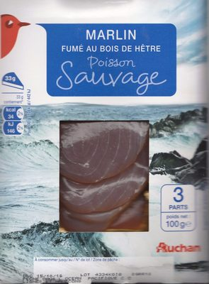 Marlin fumé au bois de Hêtre - Product - fr