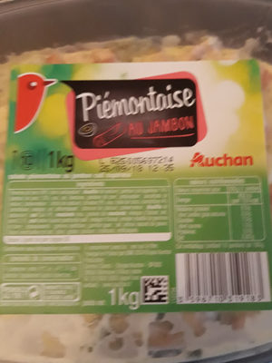 Piémontaise au jambon - Produit