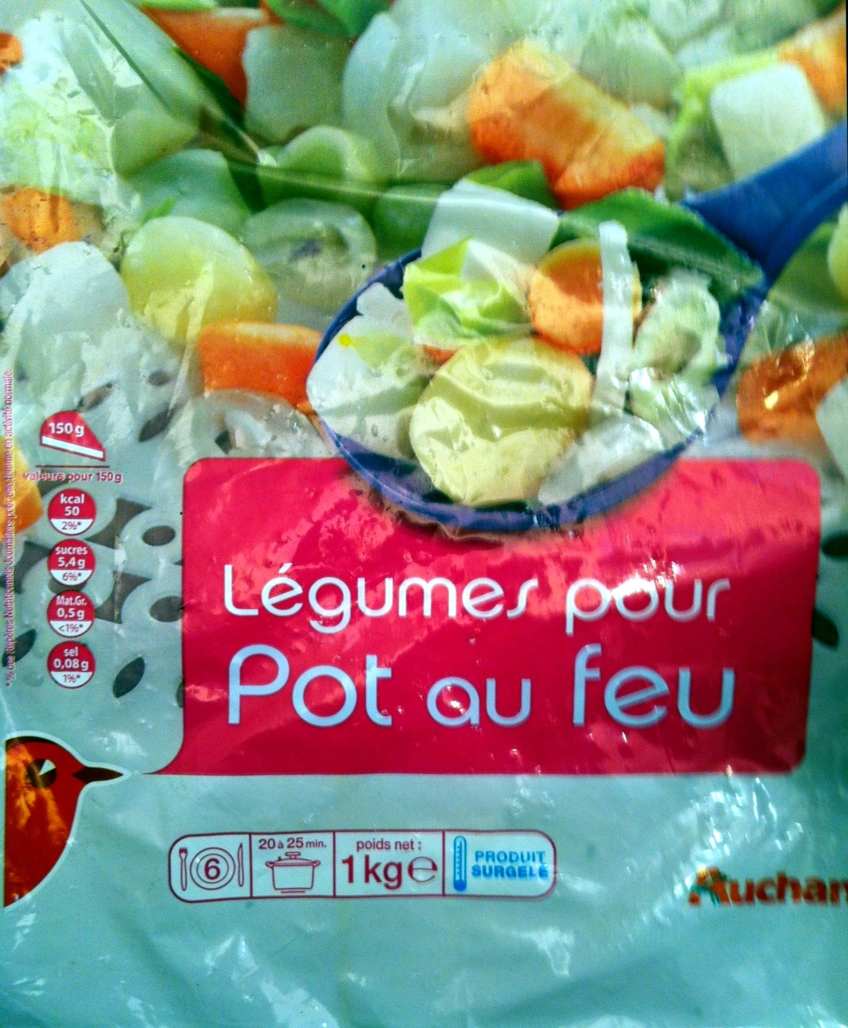 l 233 gumes pour pot au feu auchan 1kg