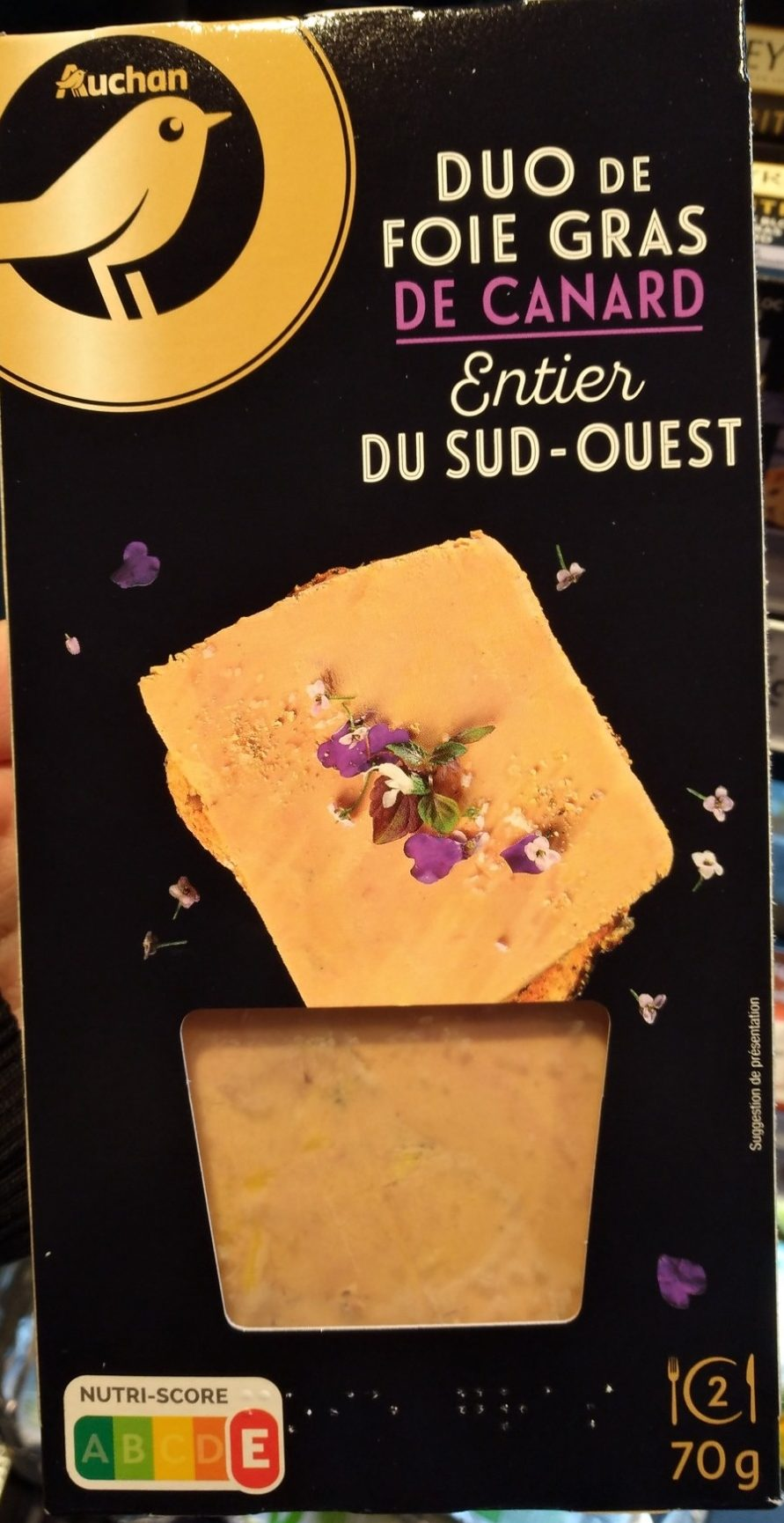 Duo de foie gras de canard entier du Sud-Ouest - Product