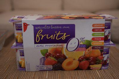 Spécialité Laitière aux Fruits avec morceaux - 3