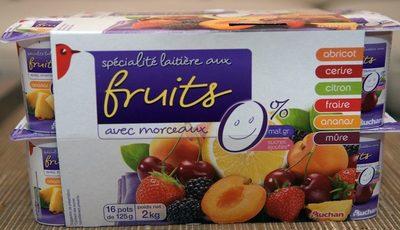 Spécialité Laitière aux Fruits avec morceaux - Produit