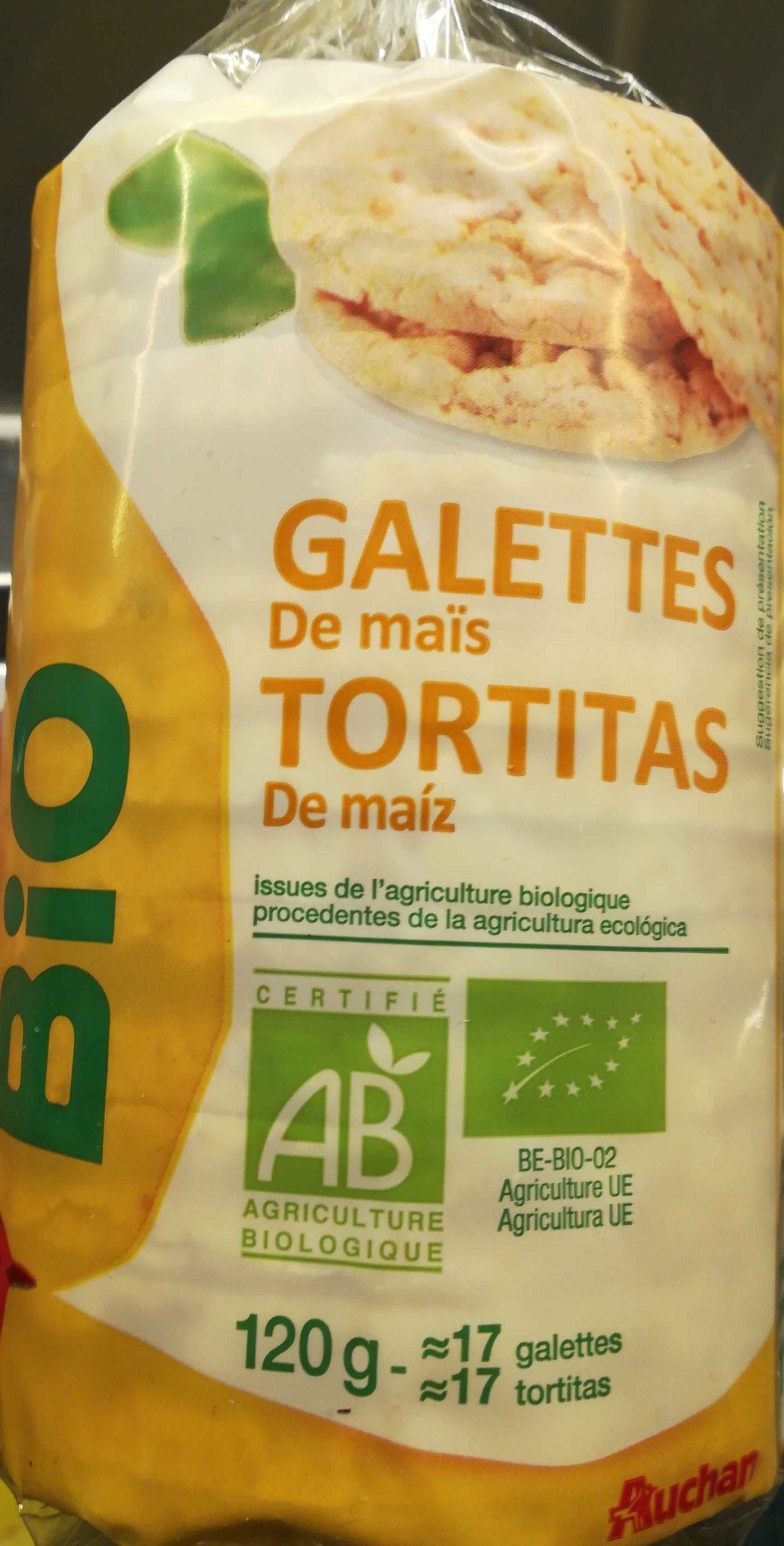 Galettes de maïs - Producto - es