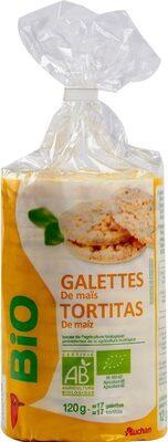Galettes de maïs - Produit - fr