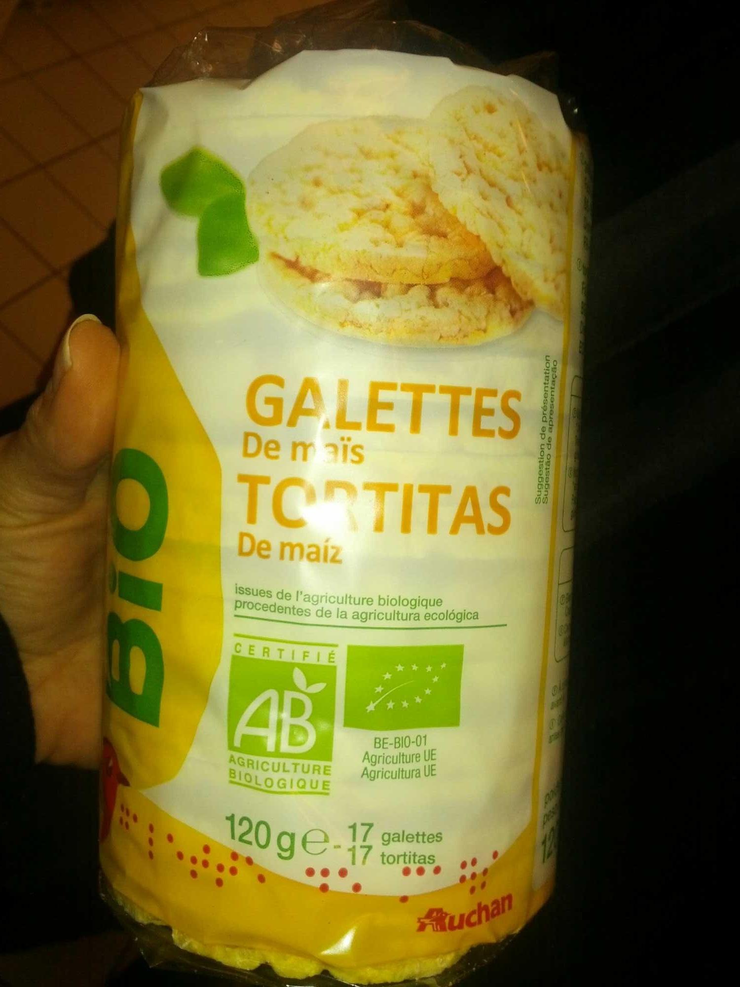 Galettes de maïs - Produit