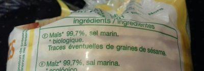 Galettes de maïs - Ingrédients