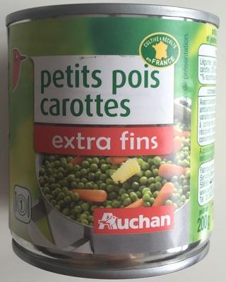 Petits pois carottes extra fins - Produit - fr
