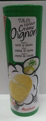 Tuiles saveur crème oignon - Produit - fr