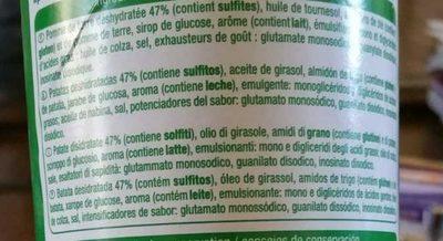Tuiles saveur crème oignon - Ingrédients - fr