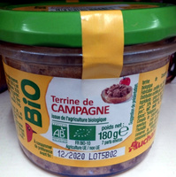 Terrine de campagne Bio - Product - fr