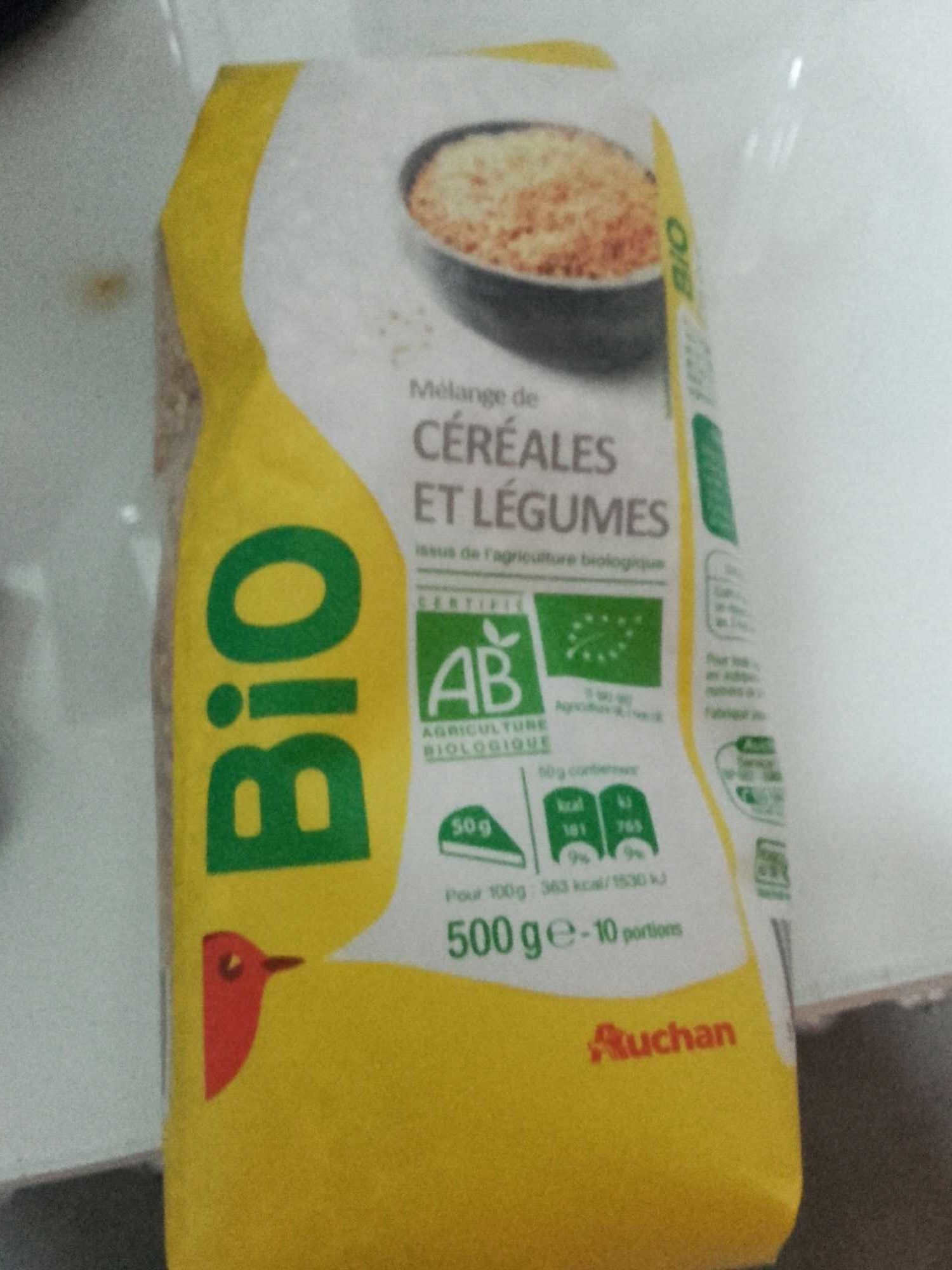 Mélange de céréales et légume - Product - fr