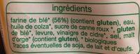 Pain de Mie Nature Bio (14 tranches) - Ingrediënten - fr