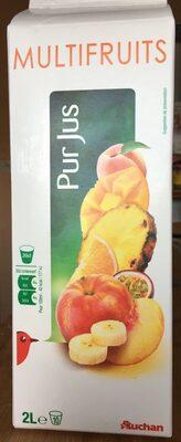 Multifruits pur jus - Produit