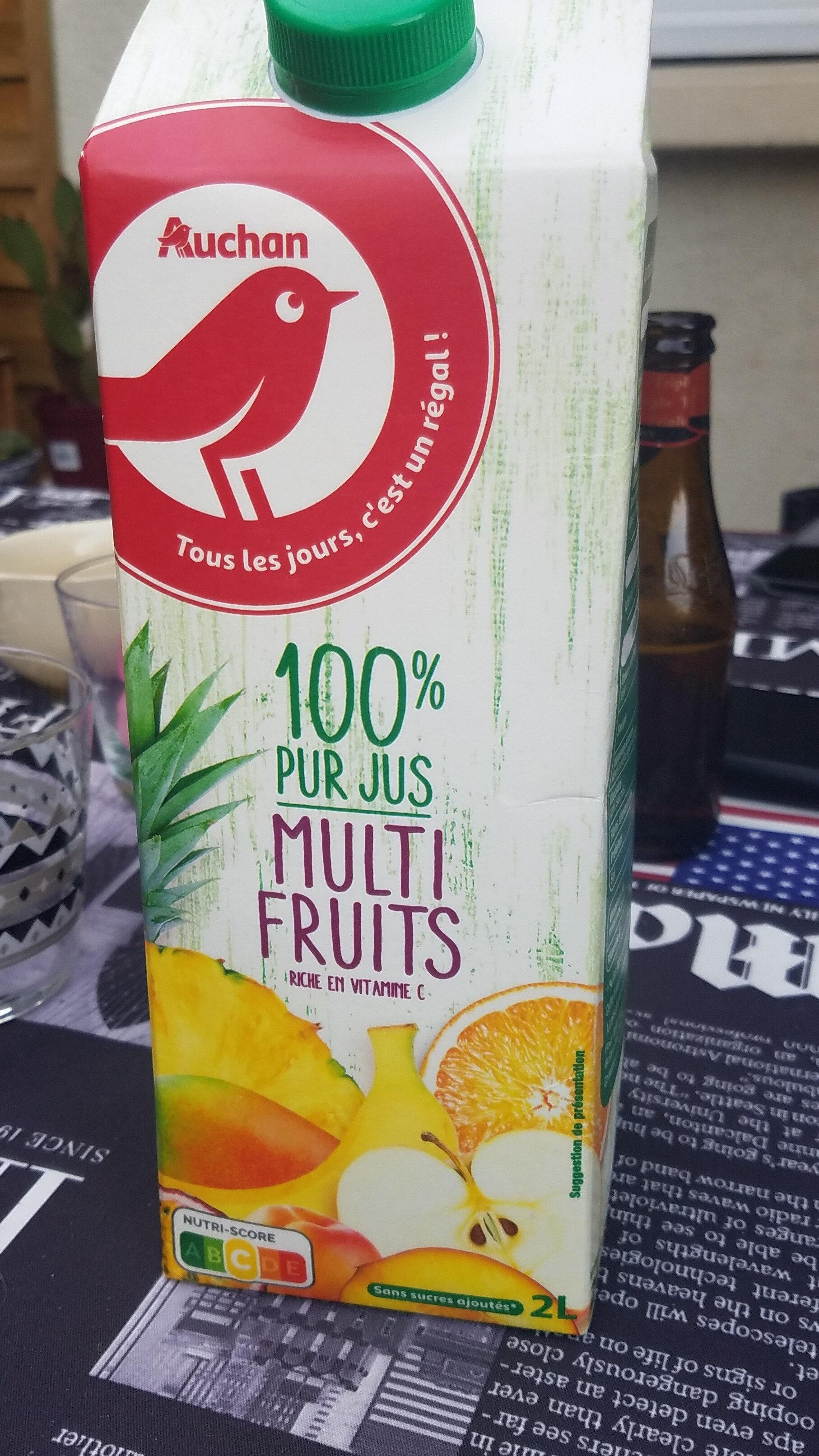 Multifruits pur jus - Produit - fr