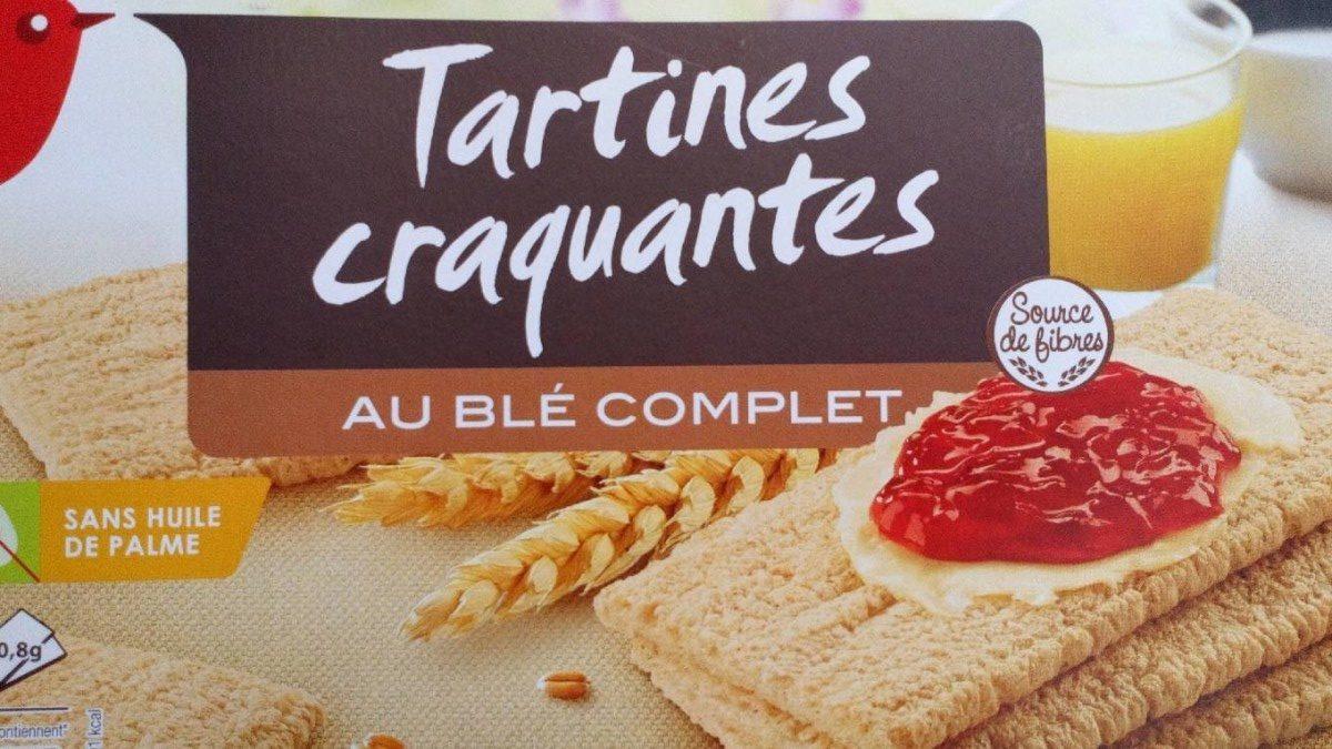 Tartines craquantes au blé complet - Product