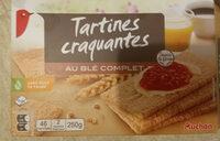 Tartines craquantes au blé complet - Produit - fr
