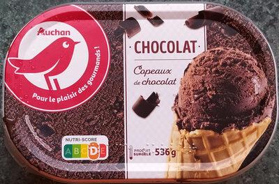 Glace chocolat avec morceaux de chocolat 1 L - Produit - fr