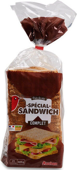 Pain de mie complet spécial sandwich - Prodotto - fr