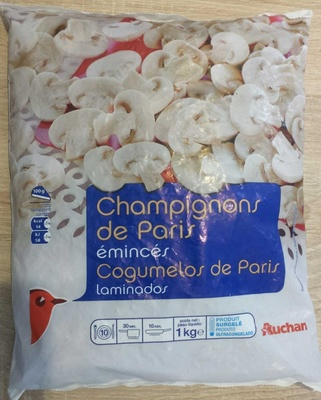 Champignons de paris émincés - Produit - fr